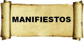 Manifiestos