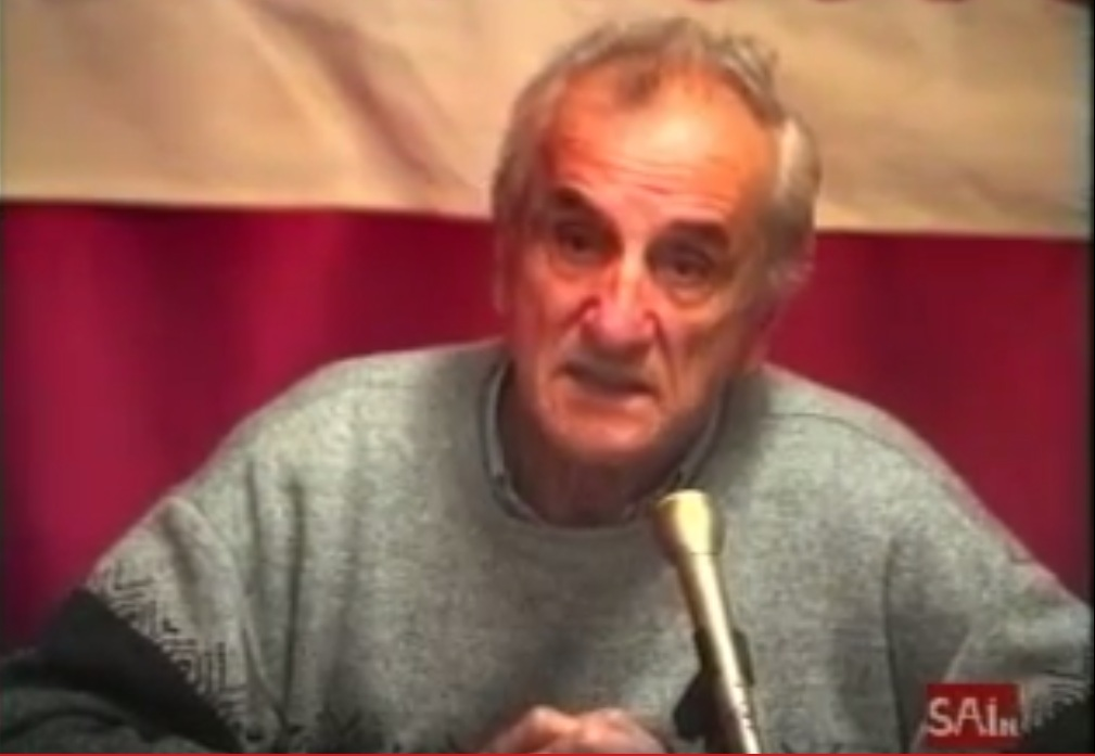 9º aniversario de la muerte de Julián Gómez del Castillo, fundador del SAIn