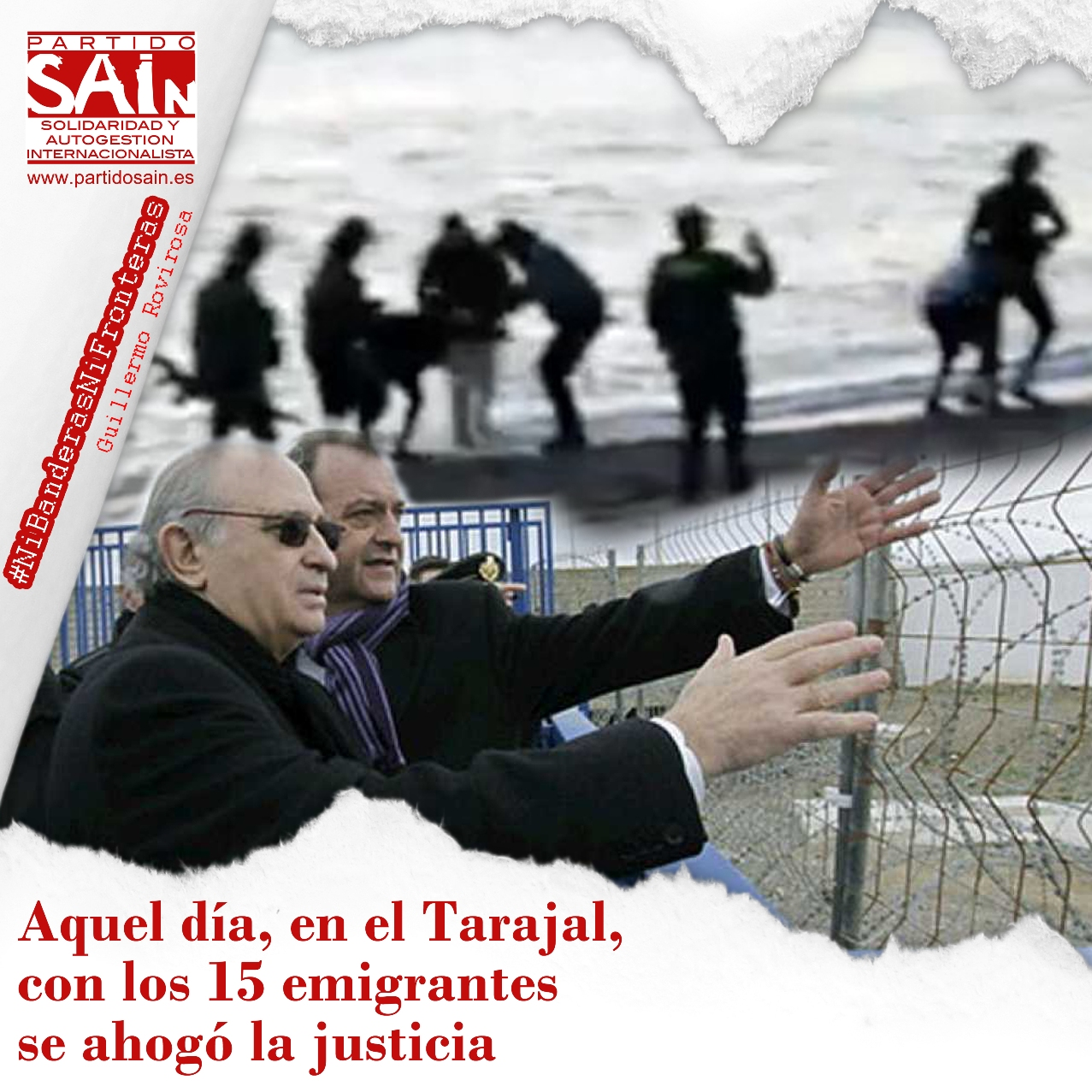 Las fronteras matan