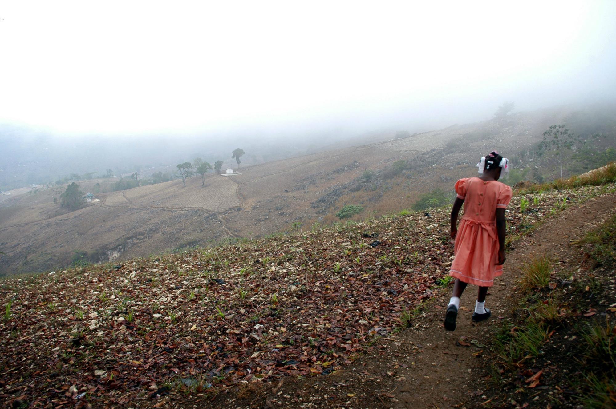 """Los niños """"restavèk"""" hacen de Haití el tercer lugar mundial en esclavitud moderna"""