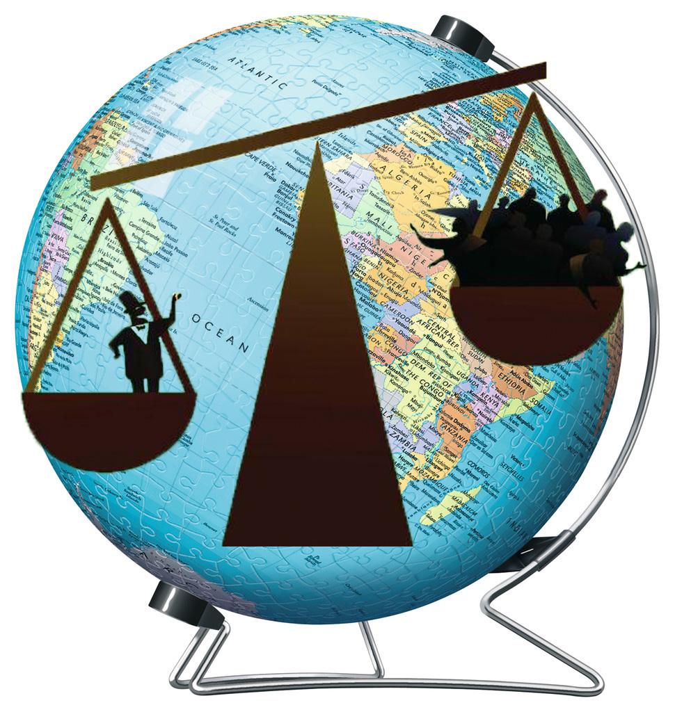 El 1% de la población mundial tiene la mitad de la riqueza y cada vez gana más