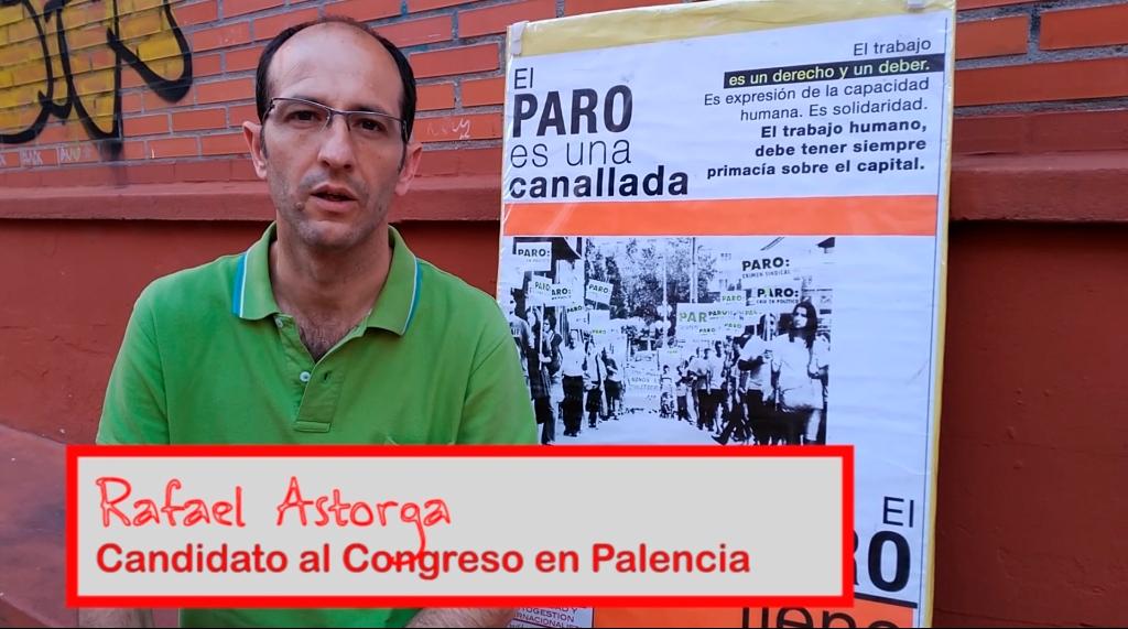 Rafael Astorga, candidato al Congreso en Palencia