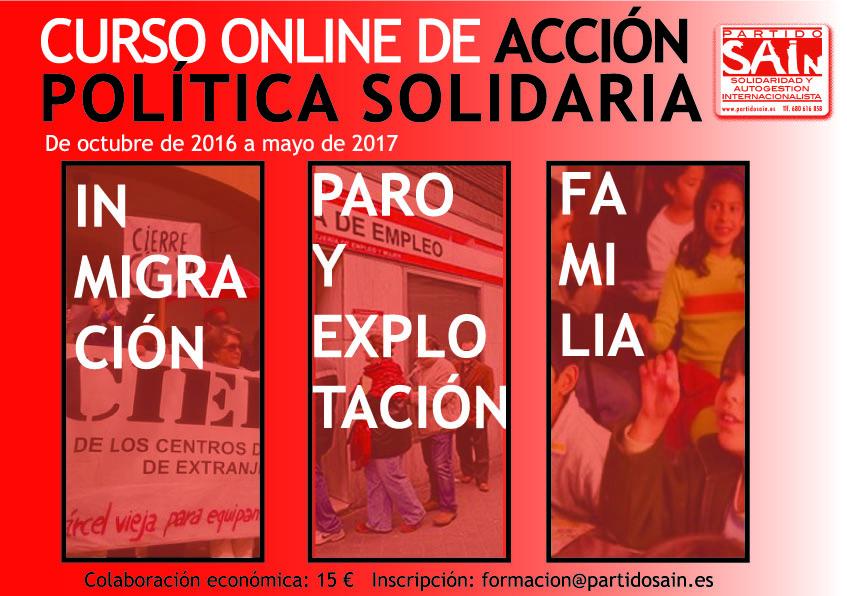 Curso online de acción política solidaria