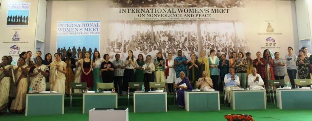 Declaración final del Encuentro Internacional de Mujeres sobre Noviolencia y Paz. Jalgaon-2016
