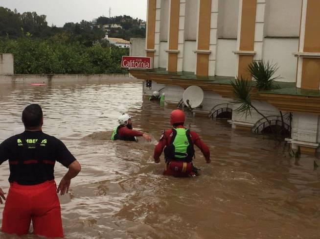 Inundaciones de Málaga; primeras víctimas, los últimos