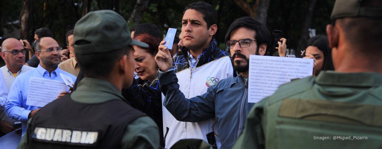"""Miguel Pizarro: """"Los muros van a caer"""""""