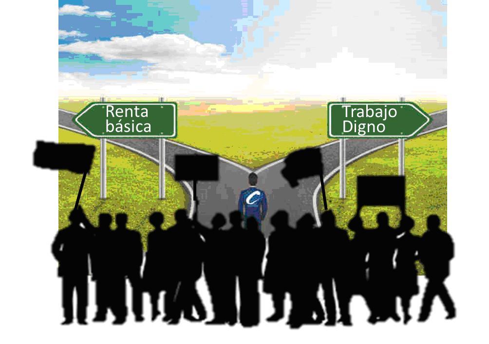 La renta básica, un camino equivocado