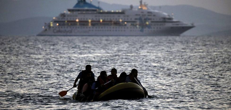 Inmigración, ocurrencias y sufrimiento