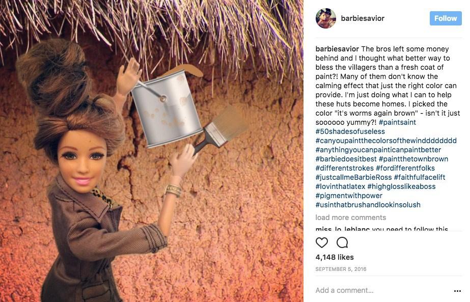 Voluntariado-Barbie