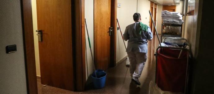 La precariedad en la limpieza de hoteles
