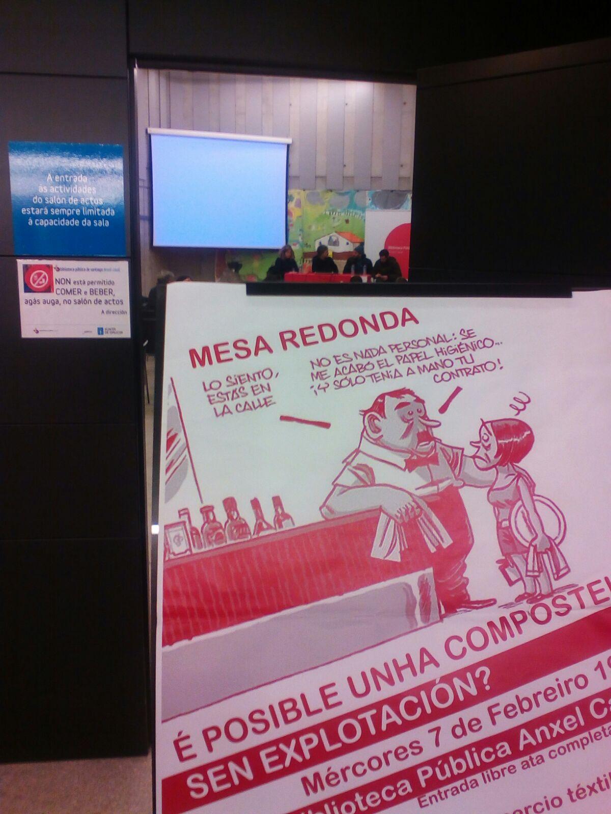 ¿Es posible una Compostela sin explotación? Queremos que sí lo sea.