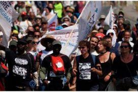 Marcha ciudadana y solidaria