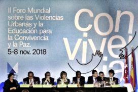 Contra las causas de toda violencia en el Foro Mundial #CiudadesPaz