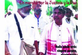 Rajagopal: Jai Jagat 2020, en marcha por la Justicia y la Paz