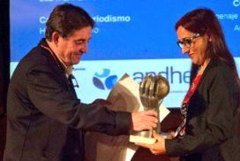 Helena Maleno, premio Periodismo y Derechos Humanos de la APDHE