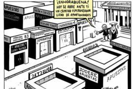 Las casas de apuestas, nuevas drogas legales