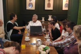 El activista pakistaní contra la esclavitud infantil Ehsan Ullah Khan visita Málaga