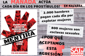 ¿Pamplona no tolera agresiones sexistas?